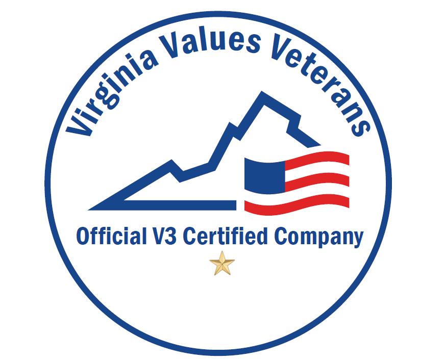 Virginia Values Veterans Official V3 Certified Company